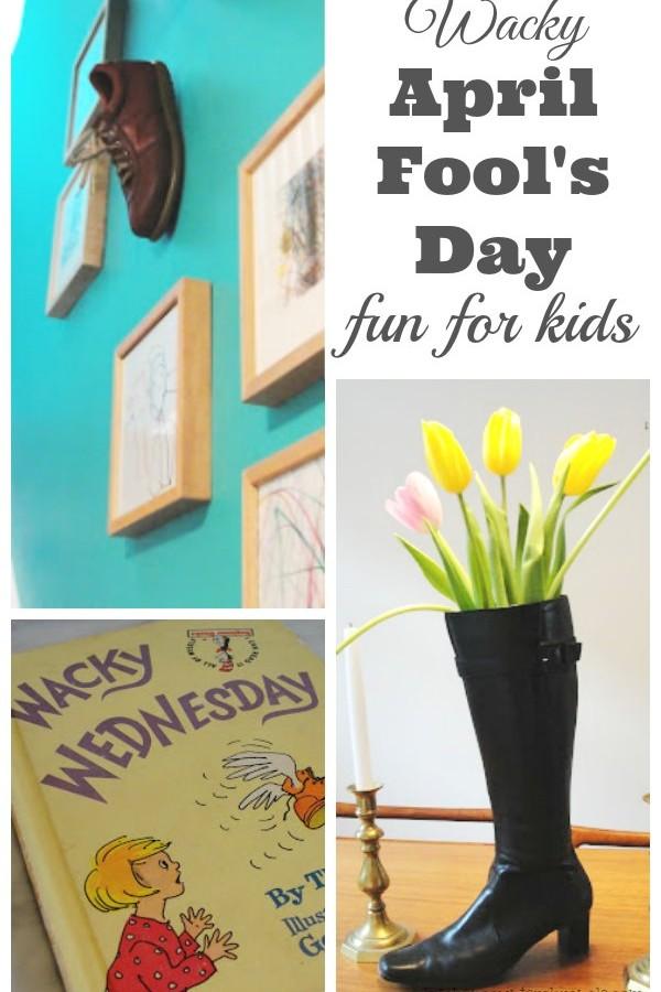 Wacky April Fool's Day Prank for Kids