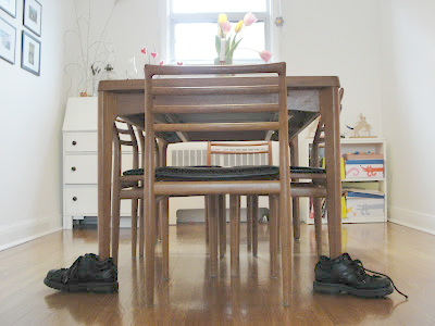 April Fool's Day Prank for Kids shoe on table