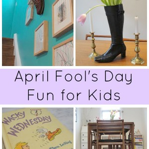 April Fool's day for kids