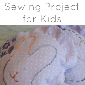 sew easy easter project for kids