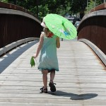 1000 words – a girl and her parasol