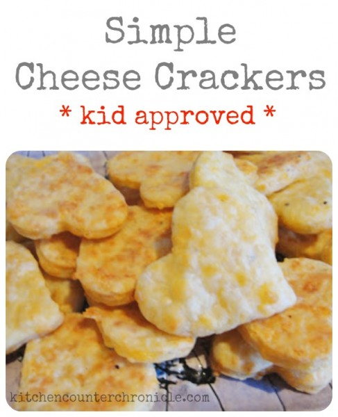simple cheese crackers