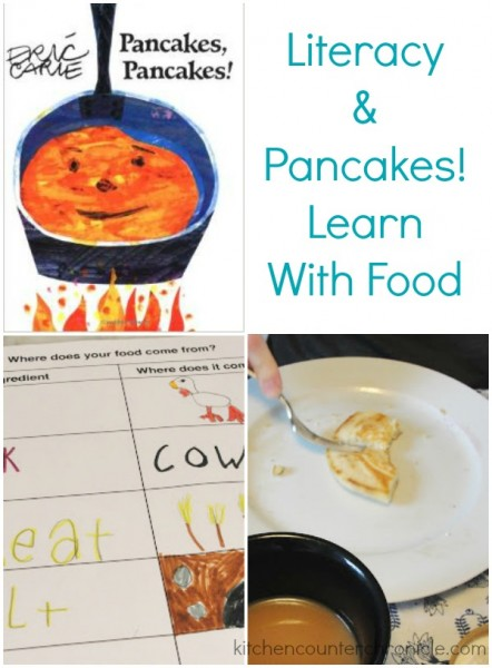 literacy and pancakes