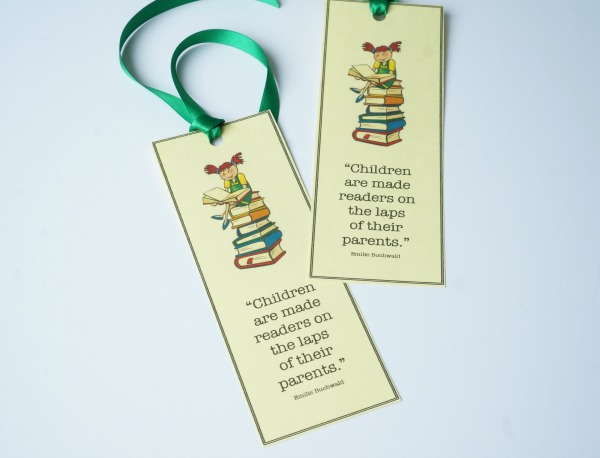 baby shower bookmark gift