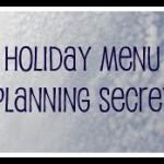 Easter menu planning secret revealed