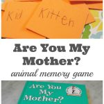 Are you my mother animal memory game