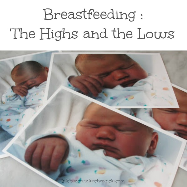 breastfeeding highs and lows