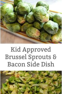 kid approved brussel sprout recipe with bacon