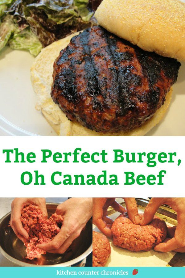 The Perfect Beef Burger Recipe