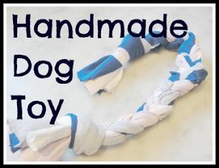 handmade dog toy