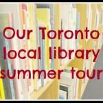 Toronto Library Tour – Heading to the Park