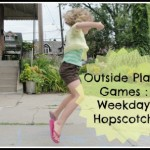 Outside Play : Games : Weekday Hopscotch