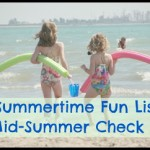 Summertime Fun List – Mid-Summer Check In