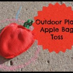 Outside Play – Apple Bag Toss