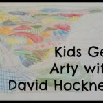 The Kids Got Arty with David Hockney