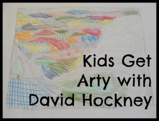david hockney art for kids