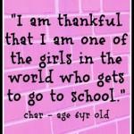 International Day of the Girl Celebration