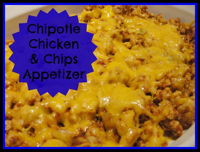 Fabulous Fall Appetizer – Chipotle Chicken and Chips