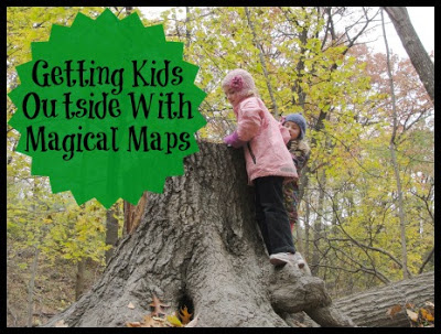 Outdoor Play Party – Getting Kids Outside With Magical Maps