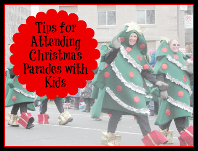 tips for enjoying a christmas parade with kids