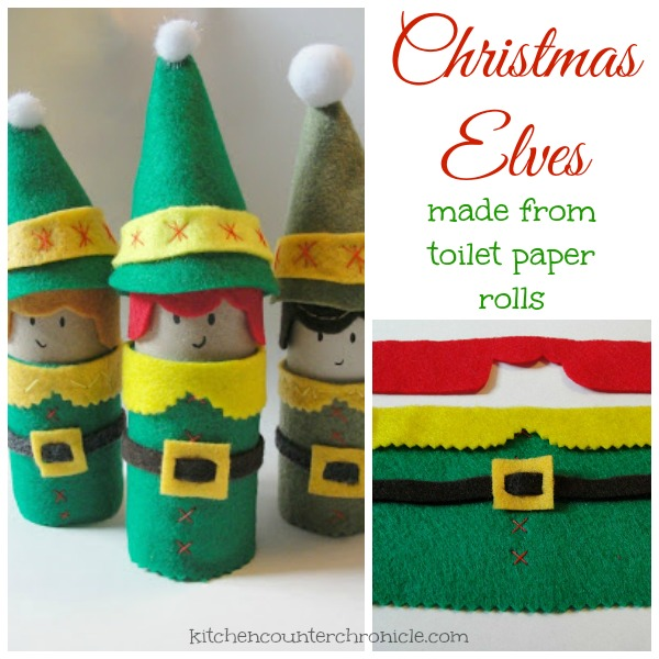 Super Cute and Simple Christmas Elf Craft