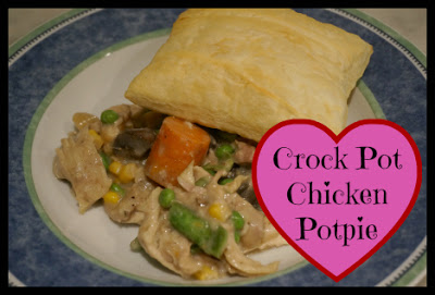 Crock Pot Chicken Potpie