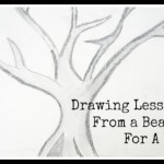 Drawing Lessons from a Bear…Drawing For Kids