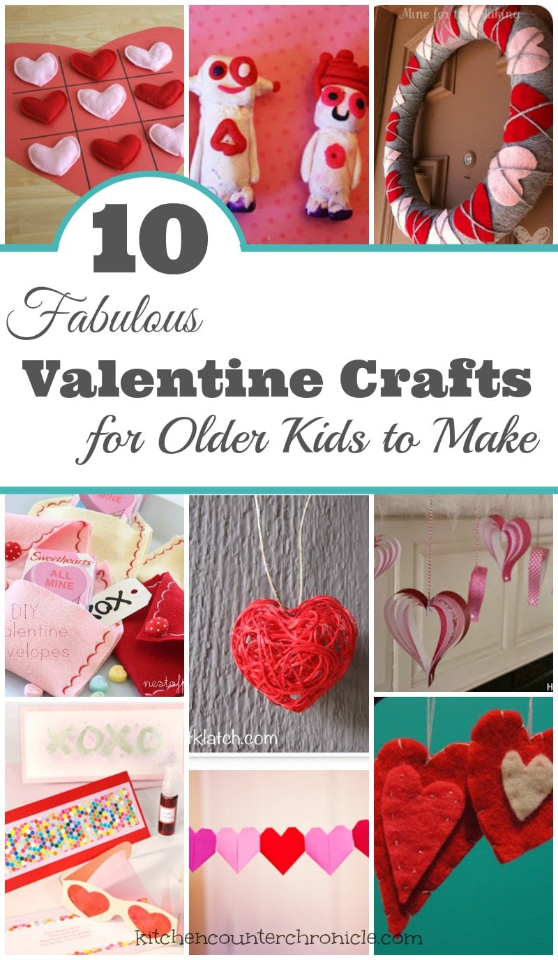 10 Fabulous Crafts for Older Kids to Make
