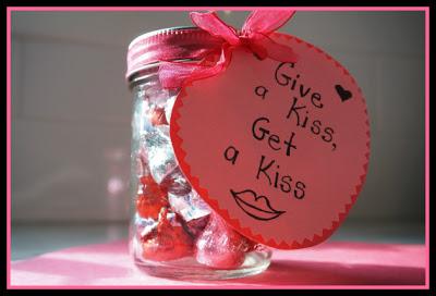 mason jar valentine treat for kids