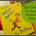 Dr. Seuss Kid Created Rhyming Game