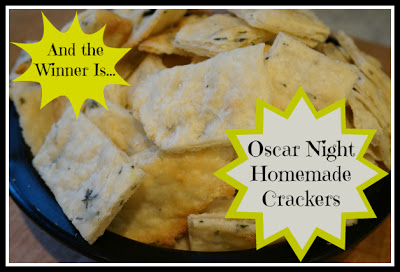 Oscar Night Homemade Crackers