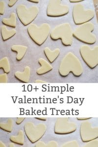 simple valentine baked treats