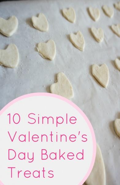 valentine's day baked treats