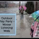 Outdoor Play Party – Winter Listening Walk