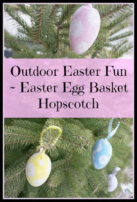 Outdoor Play Party – Easter Egg Basket HoPsCoTcH Game Time