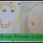 Kids Get Arty ~ Picasso Portraits with Kids