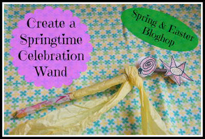Spring & Easter Activities for Kids ~ Create A Springtime Wand