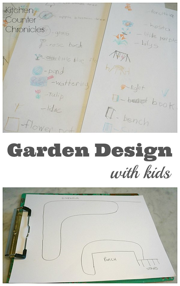 Garden Design with Kids - Do your kids like playing outside? Check out this fun garden design activity. What will your child add to your garden? | STEM for Kids | Design for Kids |