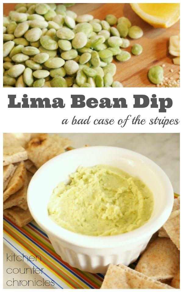 Lima Bean Dip