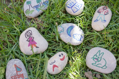 poetry pebbles