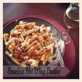 hot wings poutine