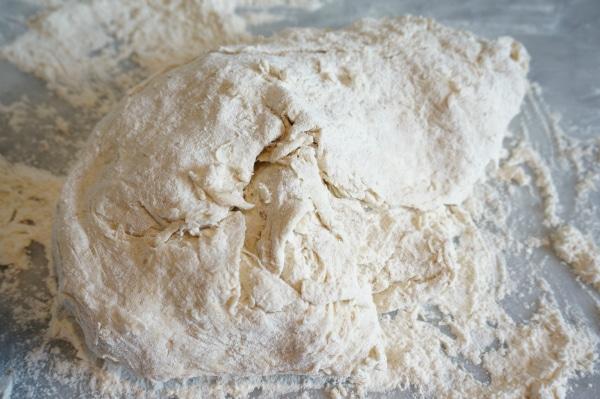 bread dough knead