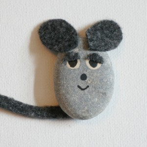 Frederick the pebble mouse