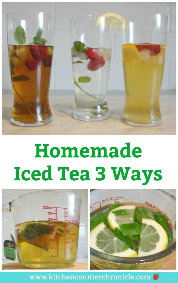 homemade iced tea recipes