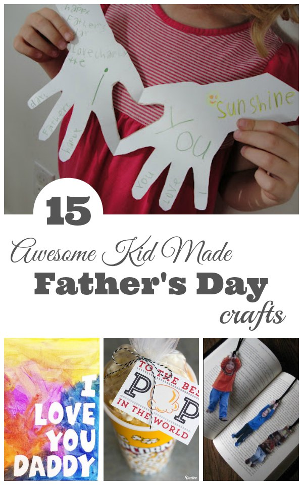 Father's Day Crafts for Kids to Make