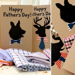 dad animal card