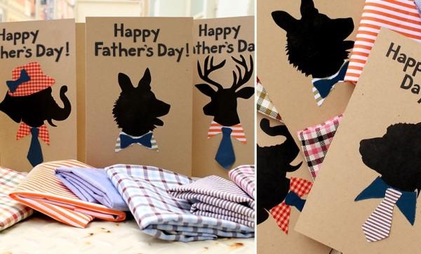 dad animal card