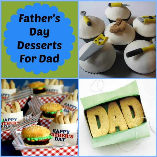 Father's Day Cakes, Cupcakes and Desserts