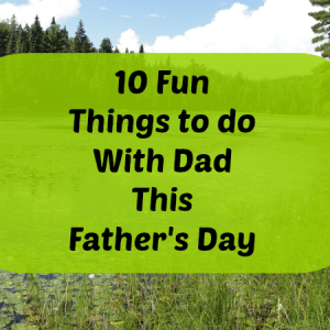 father's day things to do