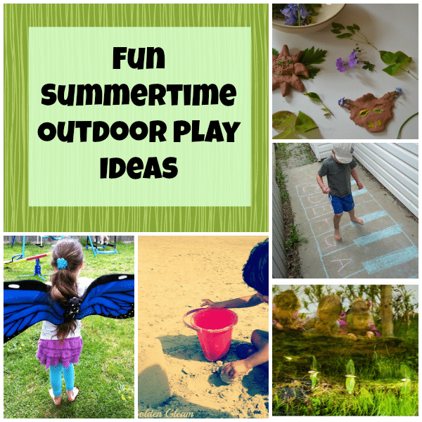 summertime outdoor play ideas